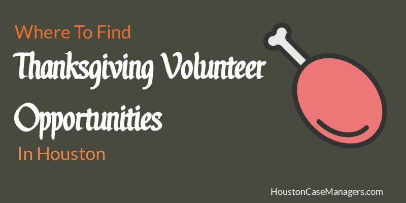 Thanksgiving Volunteer Opportunities In Houston