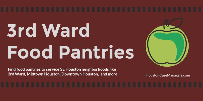 3rd Ward Food Pantries