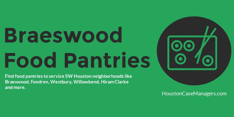 braeswood food pantries