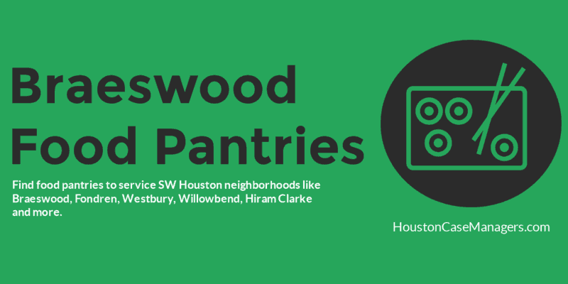 braeswood food pantries