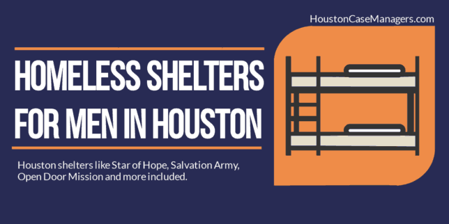 Homeless Shelters For Men In Houston