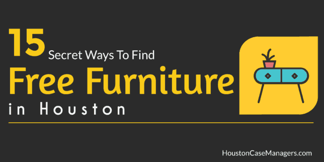 15 Secret Ways To Find Free Furniture In Houston 2020