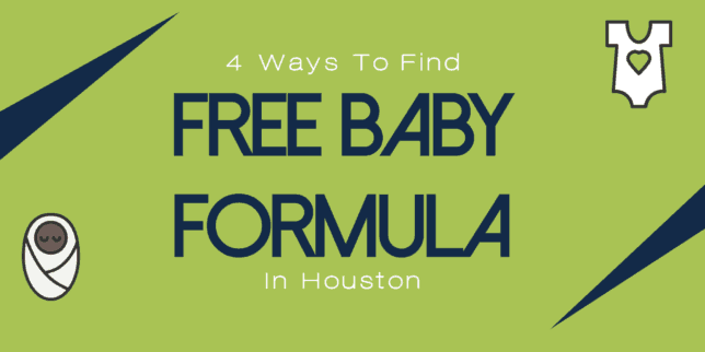 free baby formula in houston