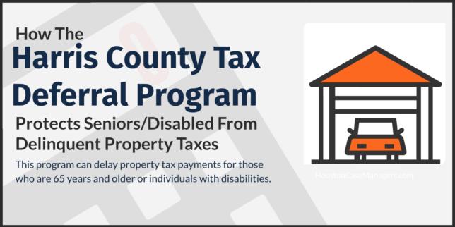Harris County Tax Deferral