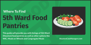 5th ward food pantries