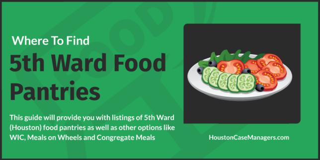 5th ward food pantries
