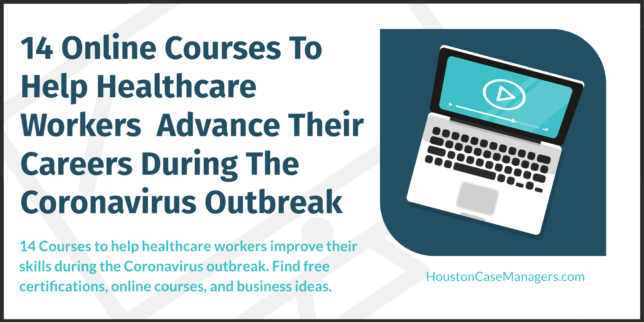 courses to help healthcare workers