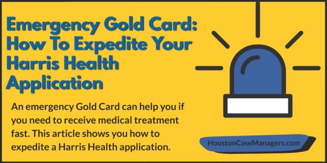 emergency gold card