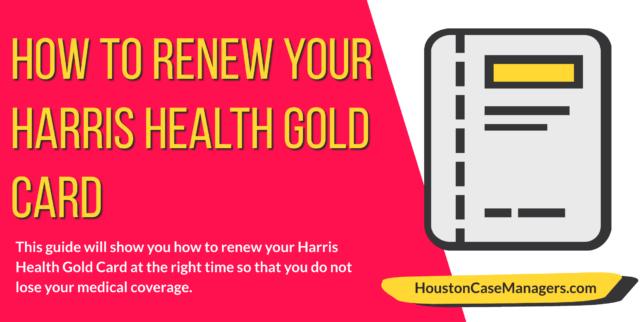 renew harris health gold card