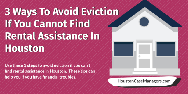 avoid eviction