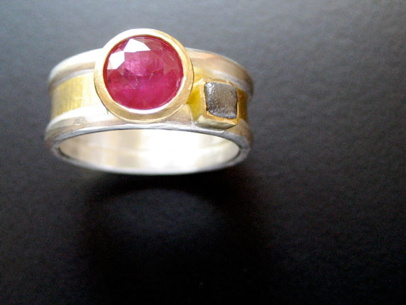 Ruby Promise Ring