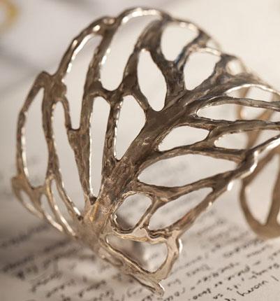 Skeleton Leaf Bracelet