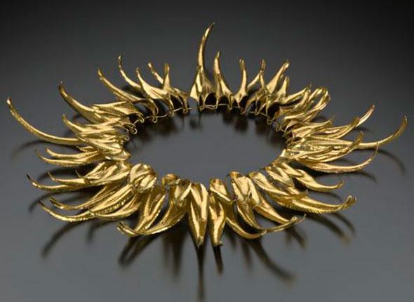 Golden Sunburst Necklace