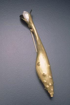 Blooming Pin Pendant