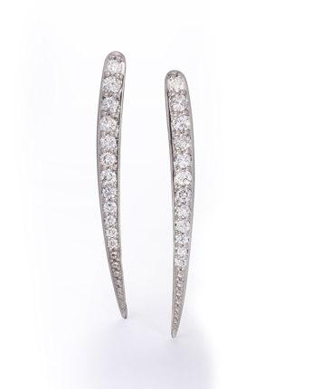 Long Quill Earrings