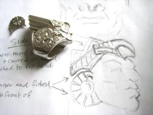 Aztec Class Ring