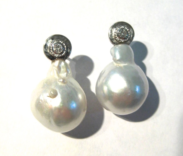 Baroque Pearl Drops