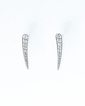 Delicate Quill Earrings