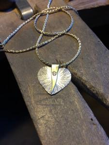 Joy Heart Pendant