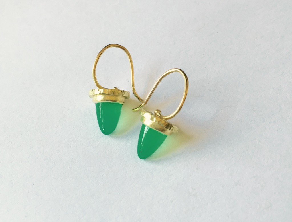Chrysophrase Earrings