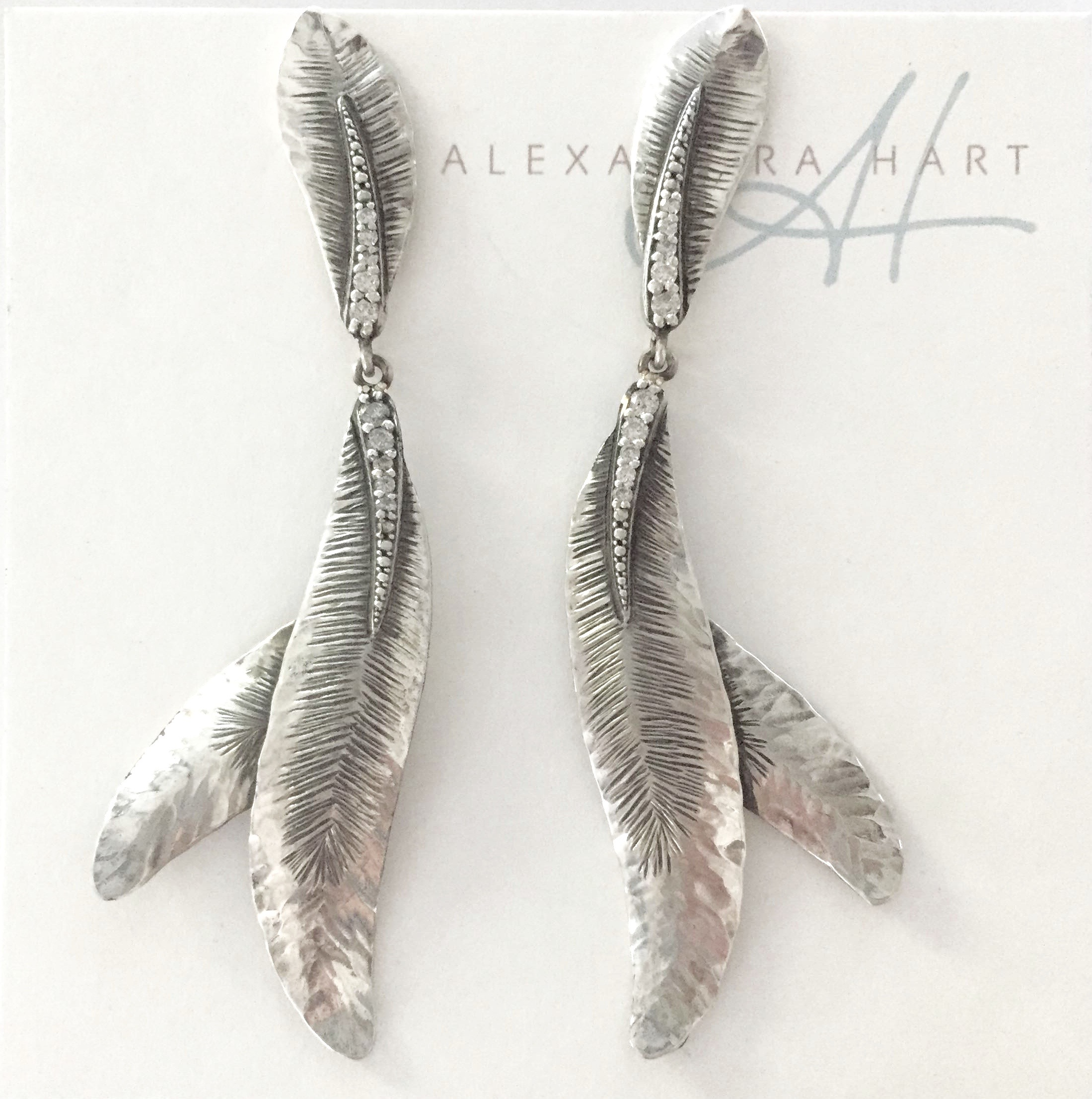 Pure Flight Chandelier Earrings