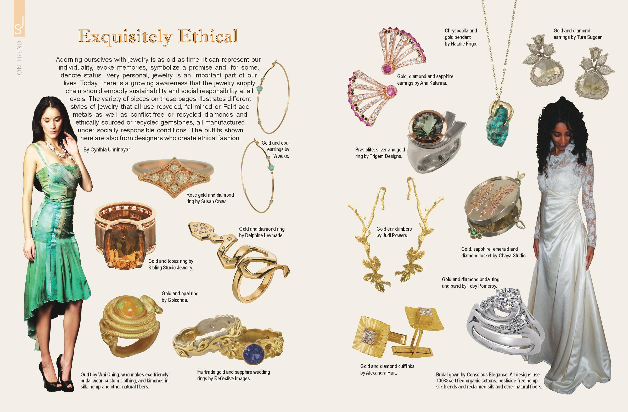 Eco trends in Jewelry