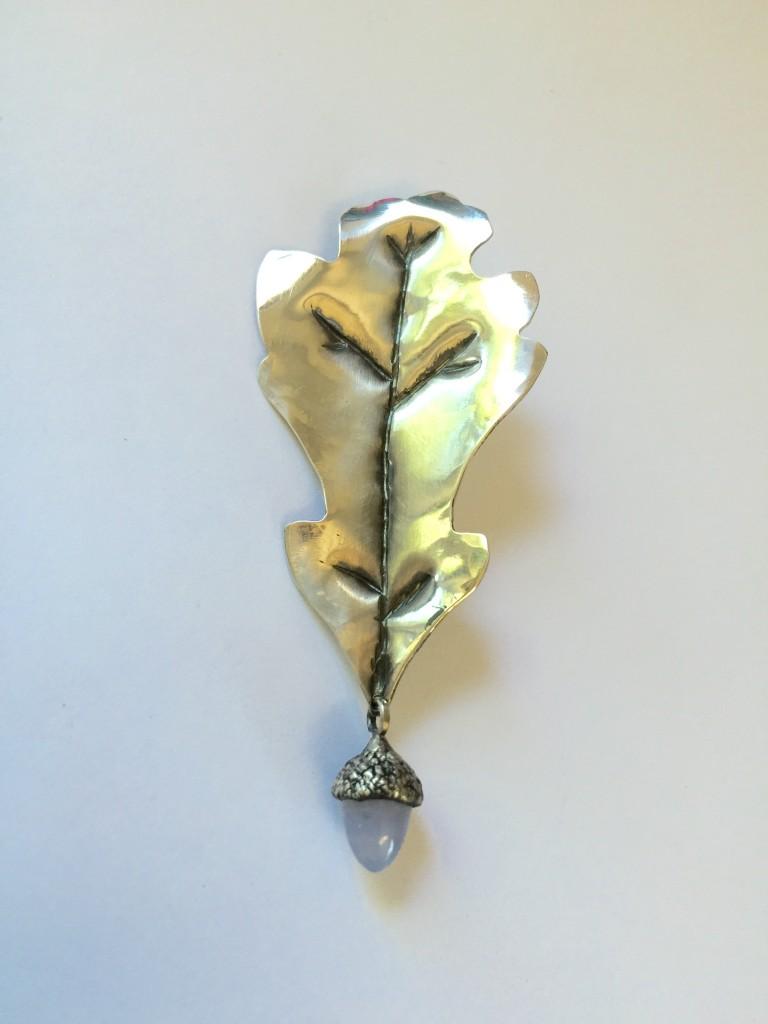 French Oak Leaf Pin/Pendant