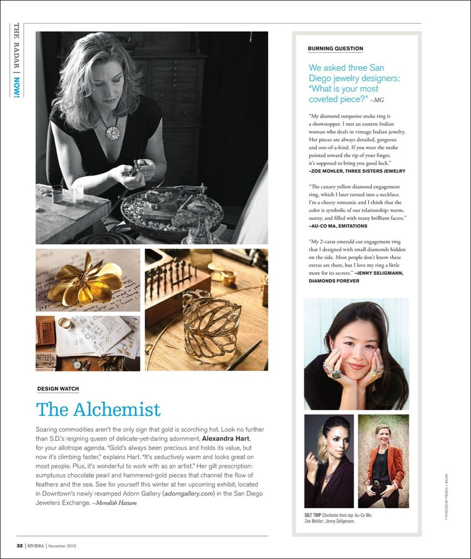 Riviera Magazine 2010 press