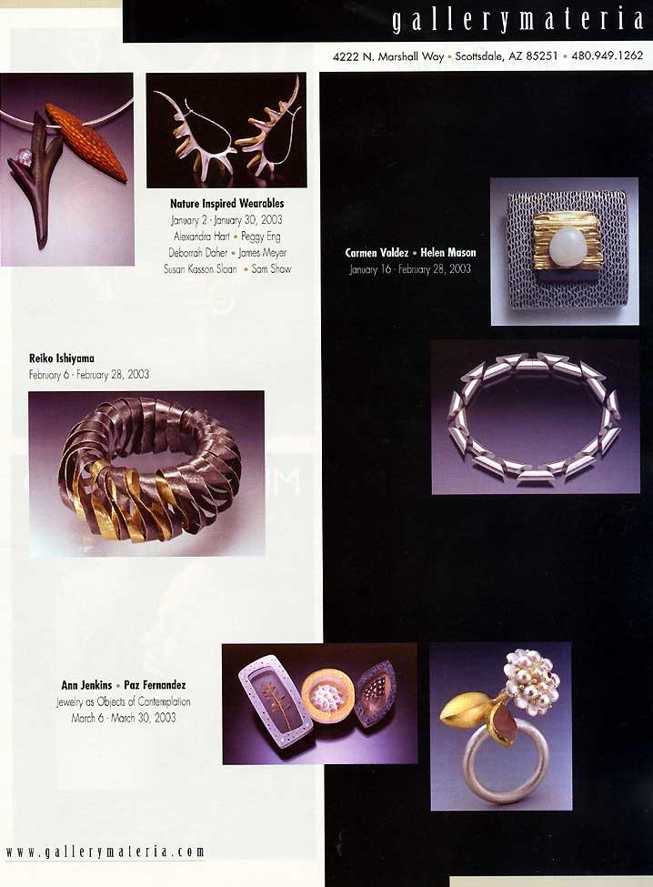 Metalsmith Press 2003