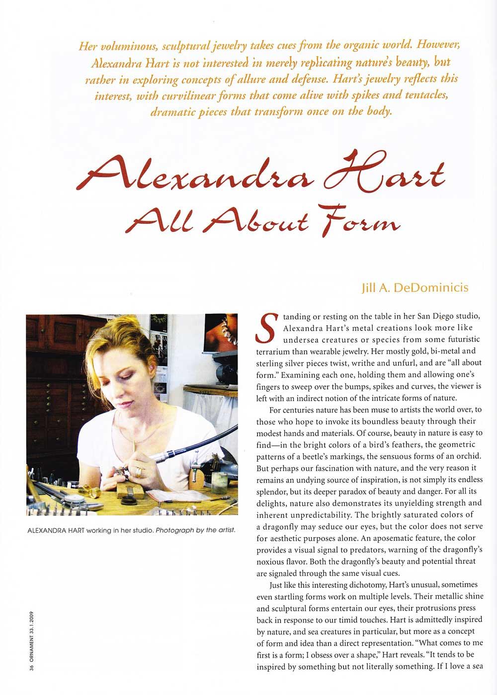 Ornament Magazine 2006
