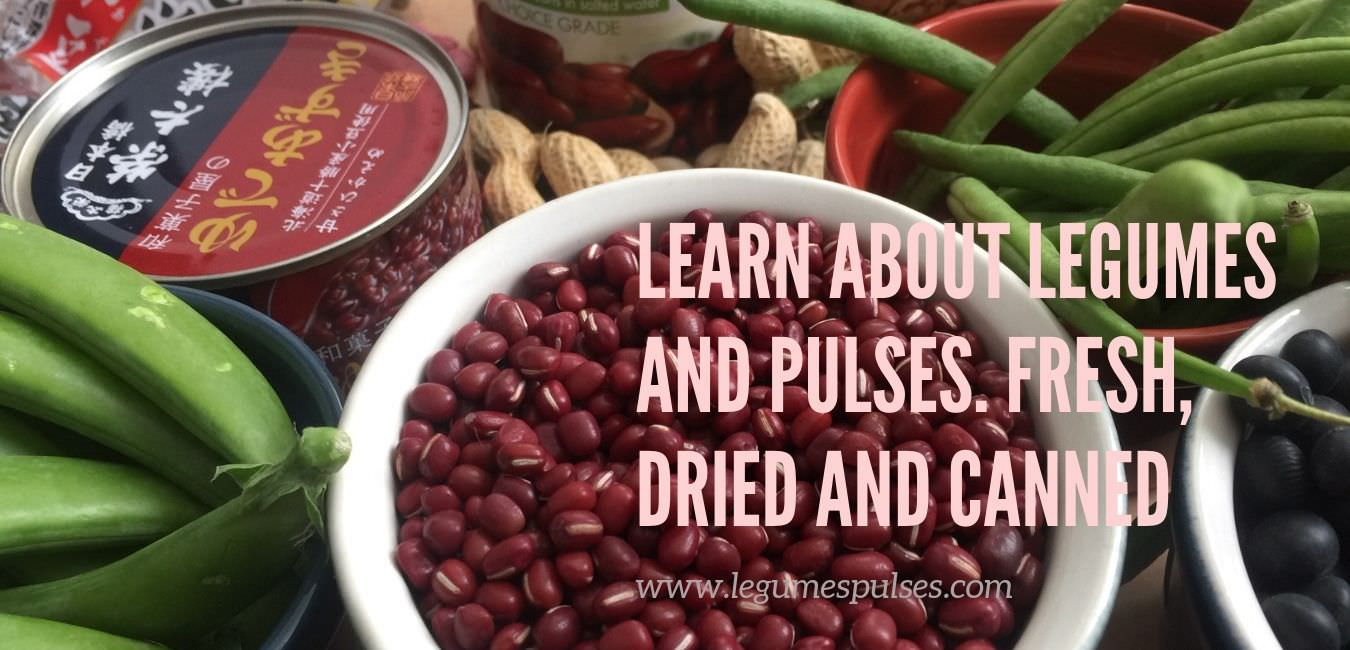 List of legumes. Fresh, Dried and canned