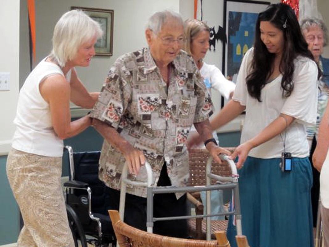 Helping frail elders