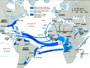 Slave Trade Map Bentley/Ziegler. Traditiona and Encounters: A Global Perspevtive on the Past.NY, McGraw Hill.