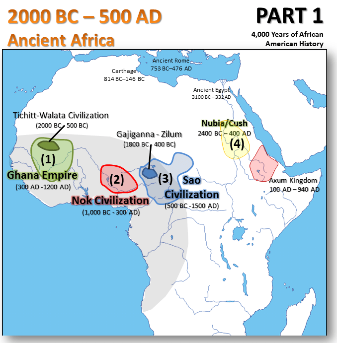 Map Of Africa 1800.4 000 Years Of African American History In One Post