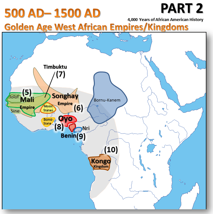 Map Of Africa Before Colonialism.4 000 Years Of African American History In One Post
