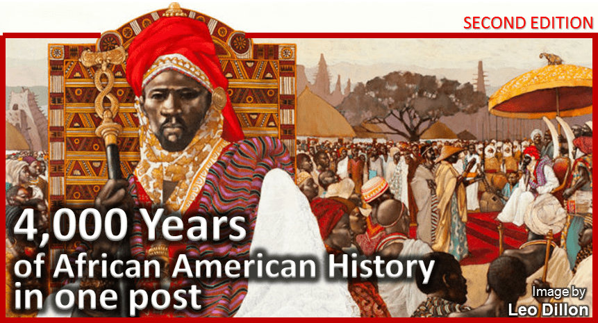 4,000 Years of African American History in One Post