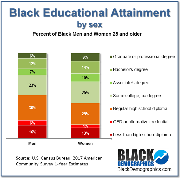 african american figure education
