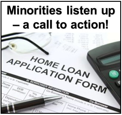 Minorities listen up – a call to action!