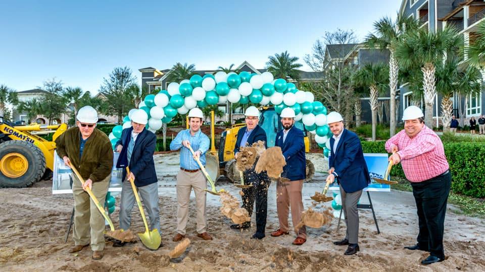Construction has begun at Parkside!