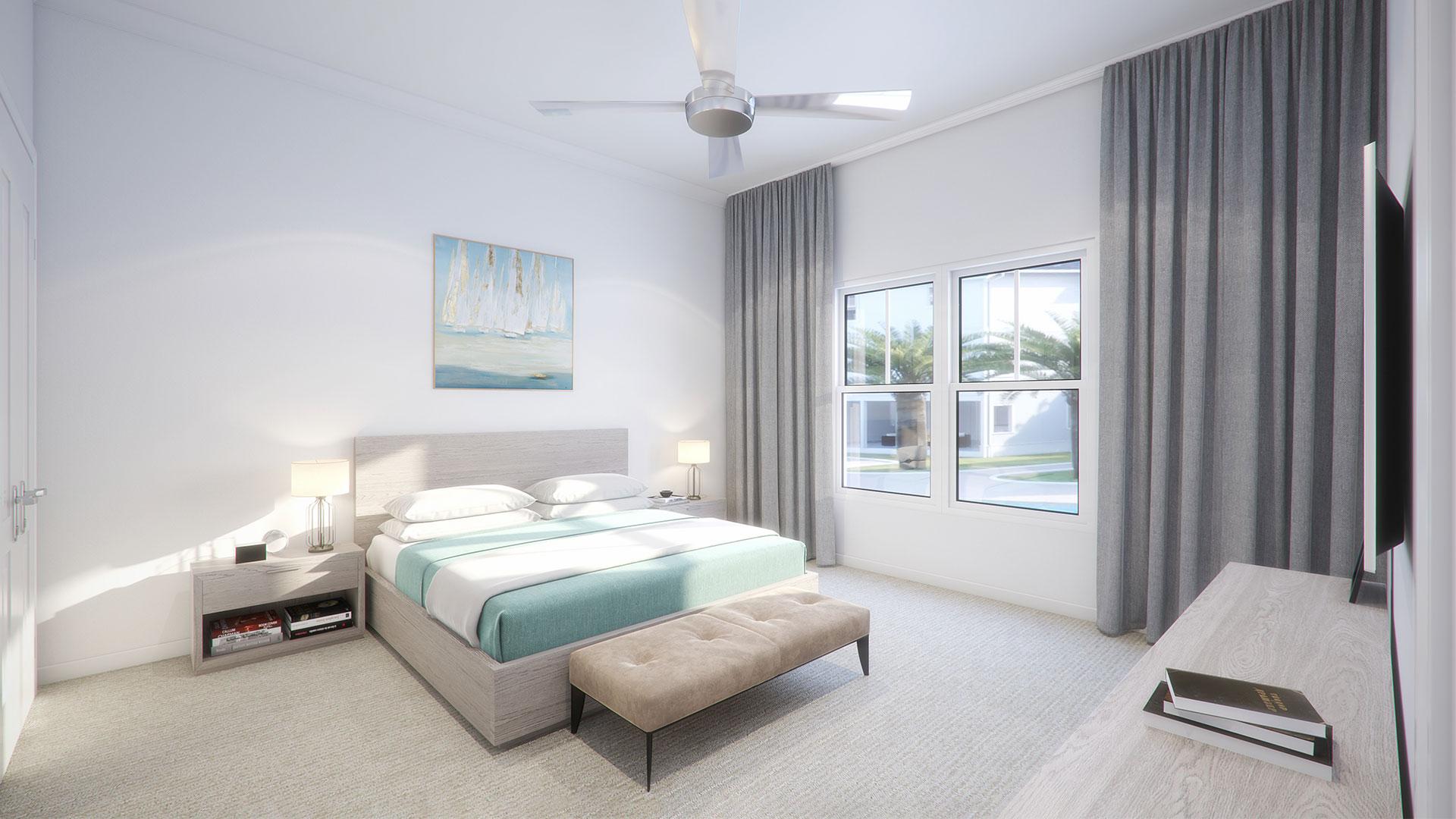 A Poolside1 master bedroom