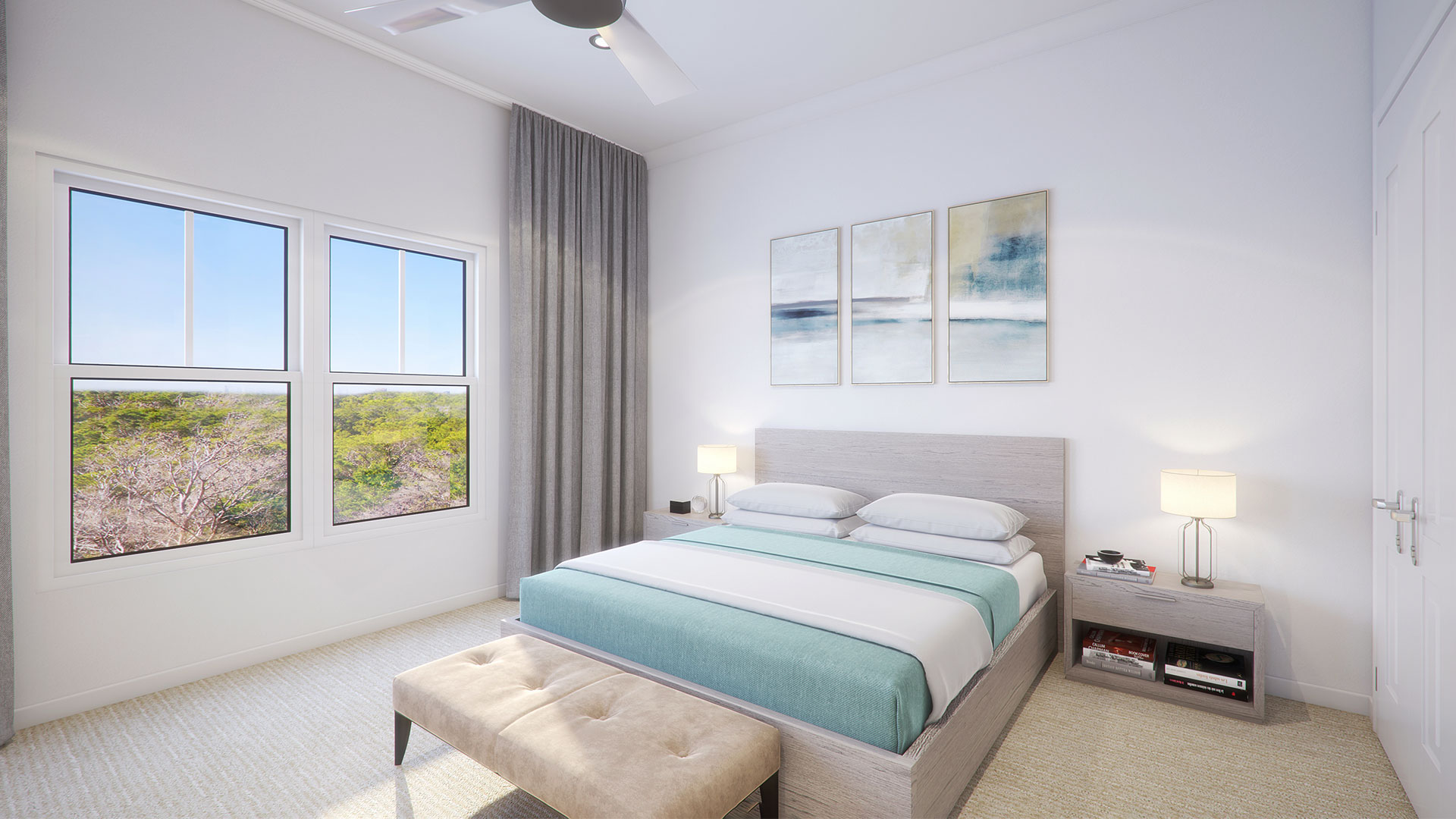 A Parkview3 master bedroom