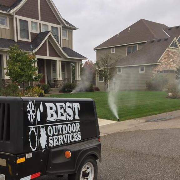 twin cities irrigation blowout
