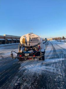 commercial property de-icing services