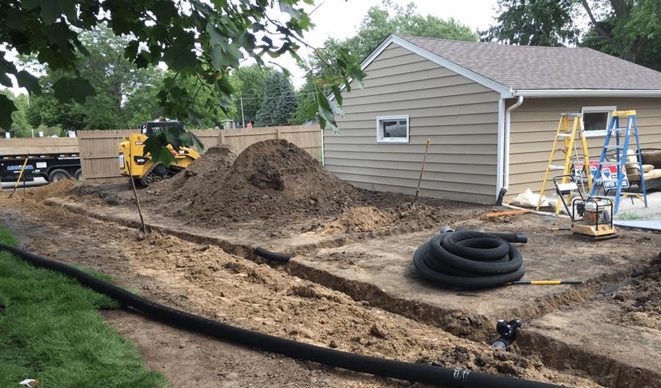 Outdoor Drainage Solutions Minnesota