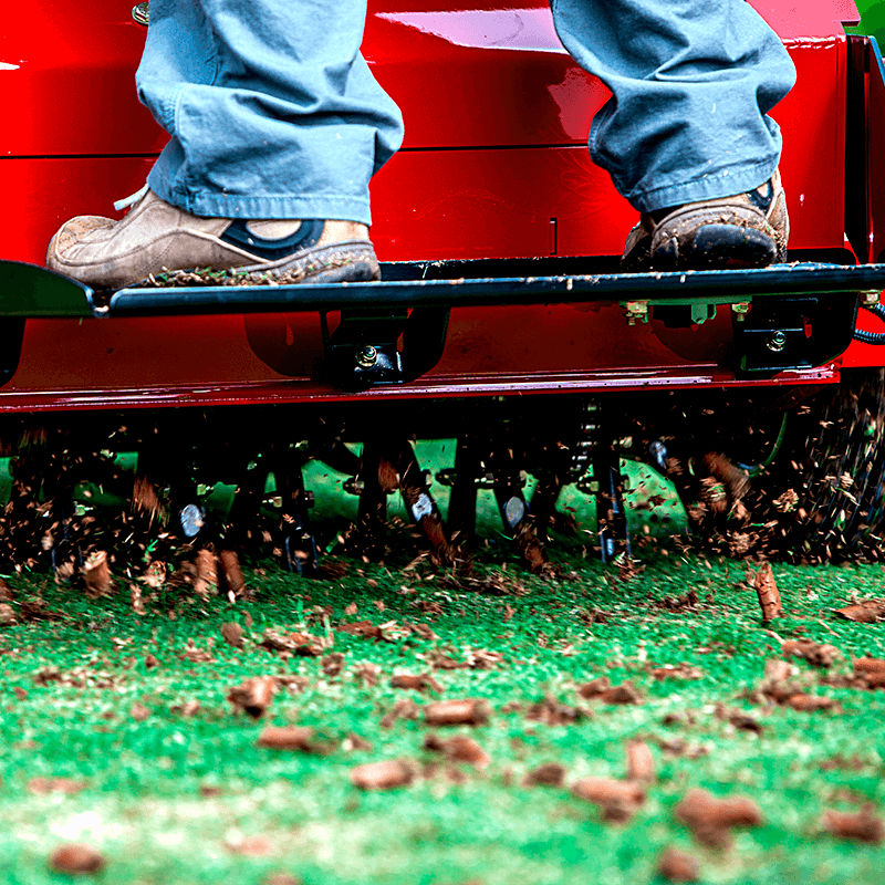 lawn aeration Andover MN