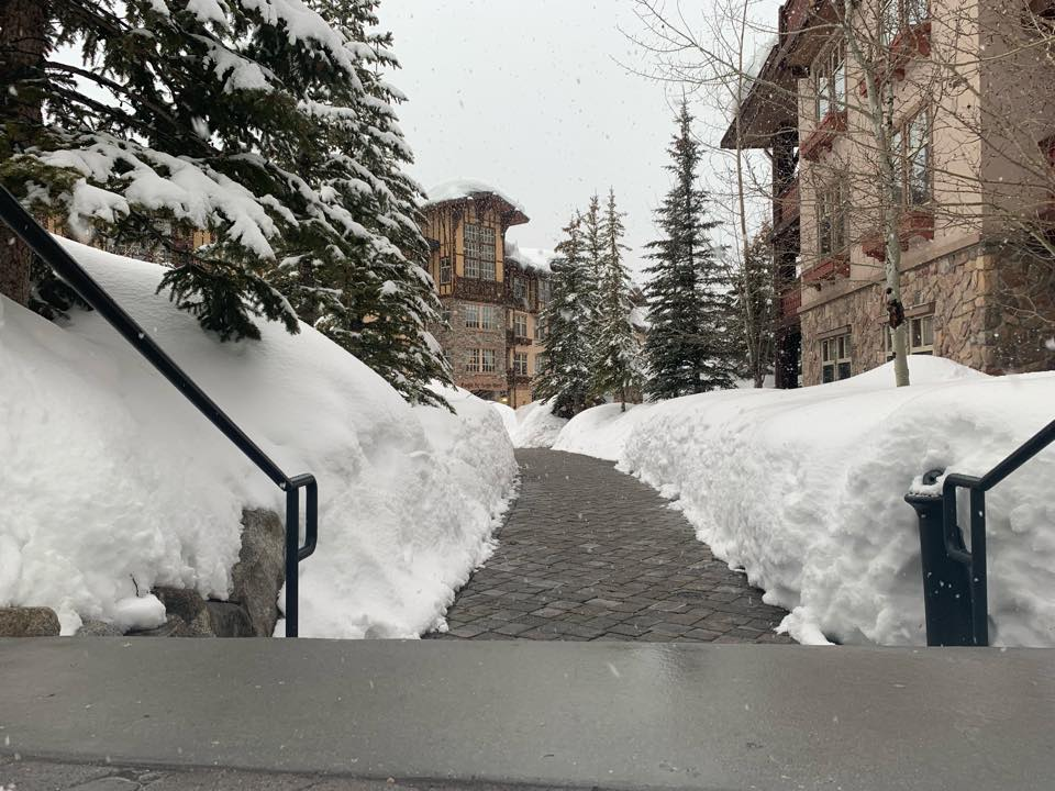 residential salting and snow removal services