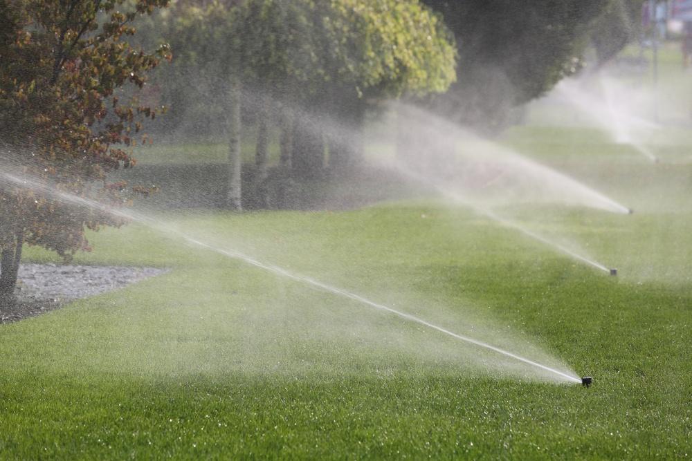 lawn sprinkler system in minnesota
