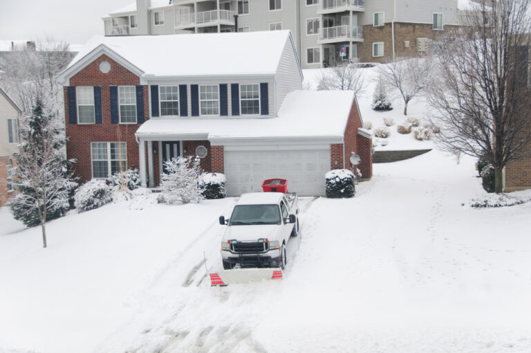 residential snow and ice removal