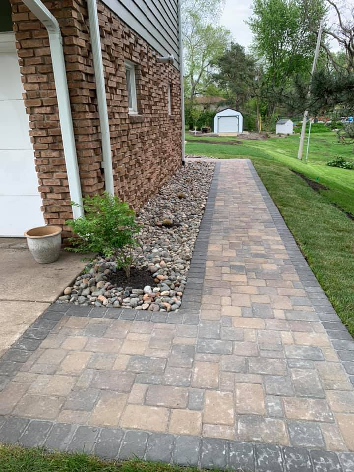 paver walkway twin cities mn