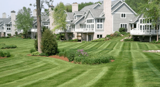 townhouse complex mowing in minnesota
